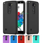 Hybrid Rugged Armor Hard Protective Case Cover For LG Stylo 2 Plus/Stylus 2 Plus