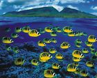 New Tropical Fishes Art Print Poster p0162