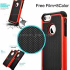 Silicone Rubber Heavy Duty Shockproof Bumper Armor Cover Case For iPhone 7 7plus