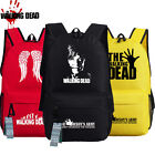 walking dead game 5 - The Walking Dead Army Wing Laptop Backpack Bag Game School Book Bag Fans Gift