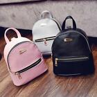 Women Girls Leather Backpacks Mini Travel Rucksack Handbags School Bag Lovely