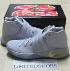 NIKE KYRIE 2 II BATTLE GREY GOLD BLACK ICE BLUE 819583-005 id game6 championship