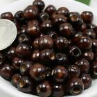 Wholesale 50/100/1000pcs coffee round wood beads  6mm---16mm spacer beads