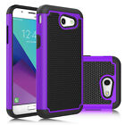 Shockproof Rugged Impact Matte Case Cover for Samsung Galaxy J3 Emerge / J3 2017