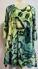 Valentina Tunic TopMulti Colored  Style 8761  Studed Polly NWT  Size Small