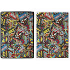 Comic Book Printed PC Case Cover For Apple iPad - Marvel Sticker Bomb - S-A907