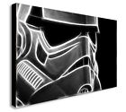 STORMTROOPER STAR WARS ABSTRACT  Canvas Wall Art Print. Various Sizes £14.99 GBP