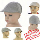 Pageboy Newsboy Costume Wedding Party Driving Golf Great Gatsby 20s Flat Cap Hat