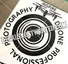 Inspire Drone Photography Professional decal UAV car window die cut vinyl