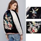 BEST QUALITY BLOGGER FAV VTG FLORAL EMBROIDERED COAT BOMBER DRESS BLOUSE JACKET