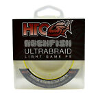 HTO Rockfish Ultrabraid 6lb & 8lb Braid Fishing Line - Lure Fishing LRF Fishing