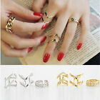 Fashion Accessories Jewelry New Punk Cuff Finger Ring 3pcs/set Gift for Women AT