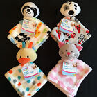 BABY BOYS GIRLS COMFORTER BLANKET, BLANKIE,KITTEN PUPPY PANDA CHICK,SUPER SOFT