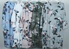 New Italian Lagenlook Quirky Boho Jersey Floral Print Stretch Pocket Tunic Dress