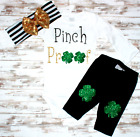 Pinch Proof- Saint Patrick's Day Baby Girl Outfit