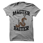 Master Baiter T-Shirt Fishing T Shirt Fish Shirt Funny Fishing T Shirt