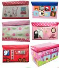 Large Kids Novelty Sit on Storage Trunk Chest Toy Laundry Box Bedroom