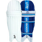 Kookaburra Surge 100 Mens Kids Cricket Batting Pads Leg Guards White/Blue