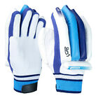 Kookaburra Surge 100 Mens Kids Cricket Batting Gloves White/Blue