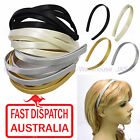 Wholesale Melbourne Cup Fascinator Millinery Satin Covered Hairbands Headbands