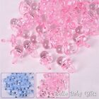 Baby Shower - Decorations 2cm Dummies - 25 Pack - Pink or Blue