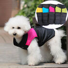 Dog Pet Winter Vest Nylon and Terylene Clothes Dog Costumes