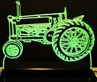 "1936 John Deere A Tractor Edge Lit Awesome 21"" Lighted Si..."