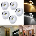 5x 3W LED Recessed Small Cabinet Mini Spot Lamp Ceiling Light Warm White White