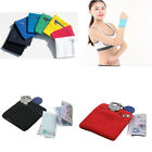 Athletic Wrist Running Travel Sports Wristband Zipper Pocket Armband Wallet