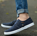 Fashion England Men's  Canvas Breathable Recreational Shoes Casual shoes