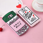 Chill Pills Soft Silicone Back Case Cover For Samsung Galaxy S6 & S7 & Note 5