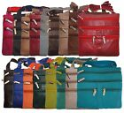 Kyпить Ladies Genuine Leather Cross Body Bag Satchel Messenger Bag 48