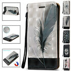 For Samsung Galaxy S6 Edge + Plus Leather Flip Card Case Cover Pattern Stand