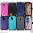 for Samsung Galaxy S4 Case Cover (Belt Clip Fits OtterBox Defender)