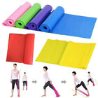 1.5m Elastic Yoga Pilates Rubber Stretch Resistance Exercise Fitness Band Strap image