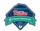 Philadelphia Phillies Sticker Decal S50 Baseball Citizens Bank YOU CHOOSE SIZE on Ebay