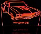 """1970 Buick GS Edge Lit Awesome 21"""" Lighted Sign Plaque 70 VVD8 Made in USA"""