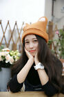 High fashion lolita cute Bear wool beret hat for children and adult handmade cap