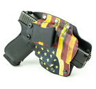 Colt, CZ, Diamondback, FN - IWB Hybrid Kydex Holster Don't Tread USA Flag
