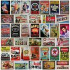 20x30 Metal plaque Vintage Retro Americana harley biker garage man cave Tin Sign $6.01 USD on eBay