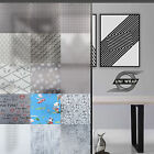 White Frosted Window Privacy Film - Squares - Plain - Lines  * 15 GREAT DESIGNS