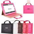 Luxury Handbag PU Leather Wallet Case Stand Cover For iPad 23456 /Mini /Air/ Pro