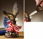 Birthday Gifts Men FAST FREE SHIPPING American Eagle Collectible Knife Display