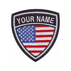 USA CUSTOM CREST EMBROIDERED PATCH