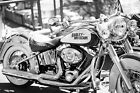 COOL HARLEY DAVIDSON MOTORCYCLE CANVAS #58 RETRO MOTORBIKE A1 A3 CANVAS PICTURE £19.99 GBP on eBay
