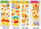 Disney Winnie The Pooh Friends Home Glass Window Decals Stickers Decor Removable