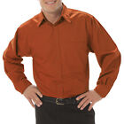 MEN'S LONG SLEEVE FINE TWILL SHIRTS (8330), SIZE L - 6XL, PLUS SIZE SHIRTS