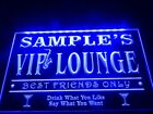 Personalized VIP bar lighted sign VIP Lounge neon led display