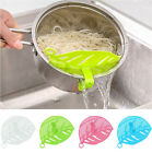 Внешний вид - Kitchen Silicone Soup Funnel Home Gadget Tools Water Deflector Cooking Tool