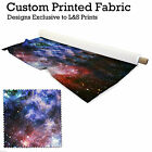 GALAXY 2 PRINT DESIGN POLYESTER FABRIC DIGITAL PRINT MATERIAL SPANDEX LYCRA